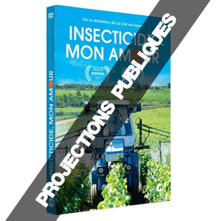 """DVD de projections publiques """"Insecticide Mon Amour"""""""