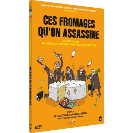 DVD Ces fromages qu'on assassine - Jaquette