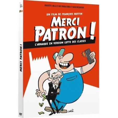 DVD Merci Patron !
