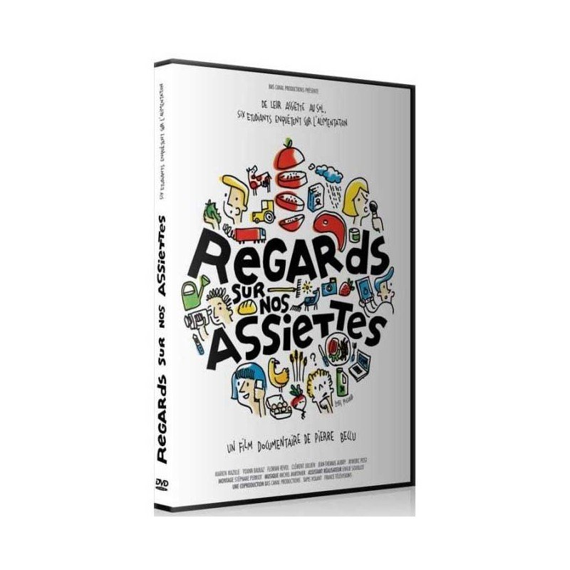 DVD Regards sur nos assiettes