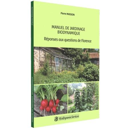 BOOK Manuel de jardinage biodynamique