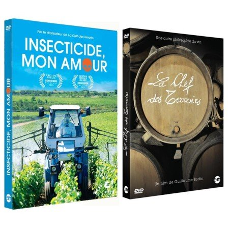 DVD Insecticide Mon Amour and La Clef des Terroirs