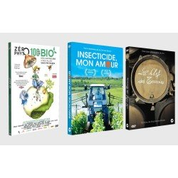 DVD Zéro Phyto 100% Bio, Insecticide Mon Amour and La Clef des Terroirs