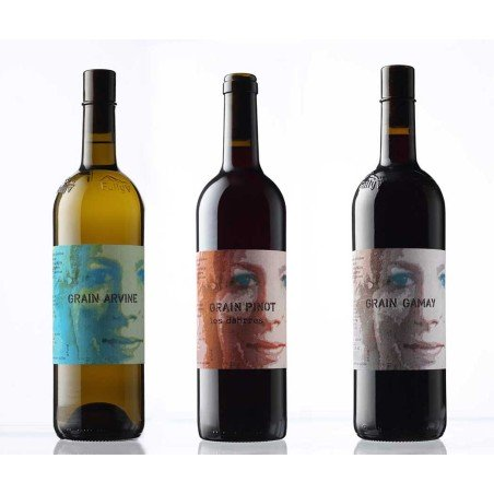 3 bouteilles de la Cave Marie-Thérèse Chappaz